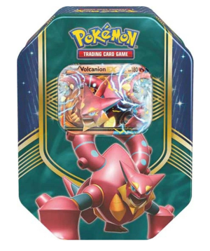 Pokémon - TCG EX Volcanion Collector Tin - Multicolor