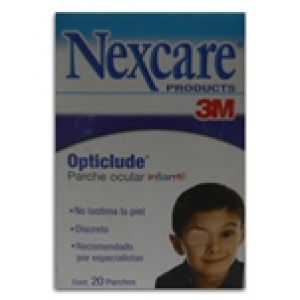 3m nexcare opticlude parche ocular c/20