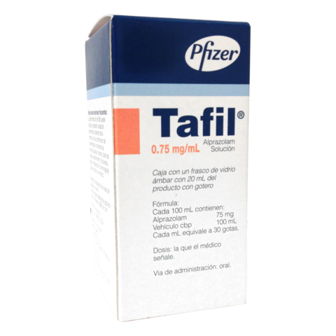 Tafil Gotero con 20 mL (15 mg)